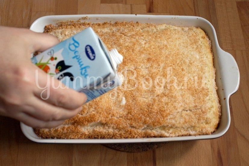 Пирог с кокосовой стружкой - шаг 6