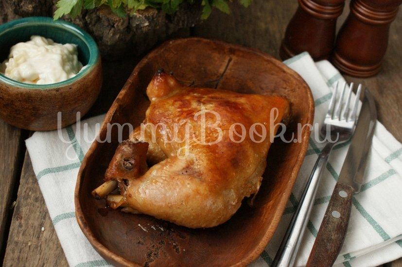Куриные окорочка запечённые  в маринаде - шаг 4