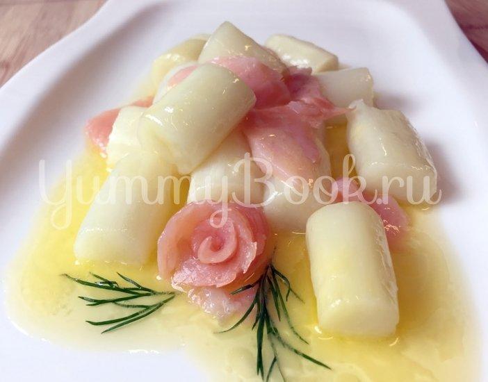 Спаржа в лимонно-карамельном соусе от Хайке - шаг 6