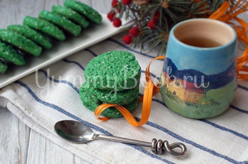 Печенье с чаем Матча - шаг 7