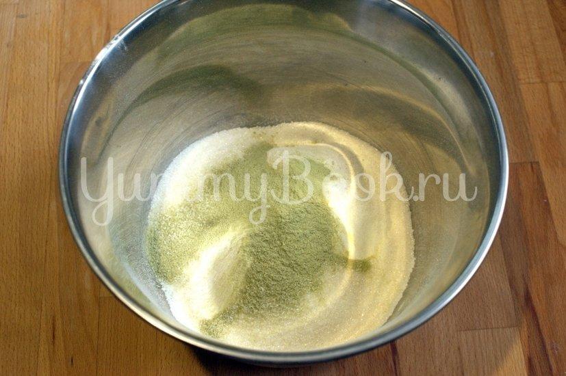 Печенье с чаем Матча - шаг 1