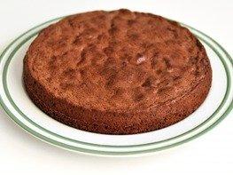 Пышный шоколадный бисквит