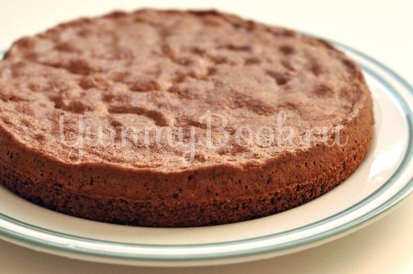 Пышный шоколадный бисквит - шаг 6