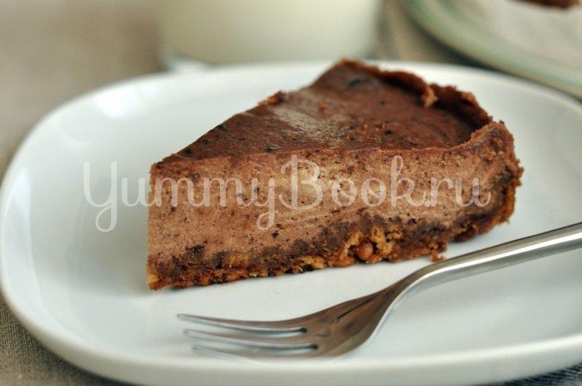 Шоколадный чизкейк - шаг 9