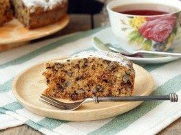 Кекс с орехами и сухофруктами в мультиварке