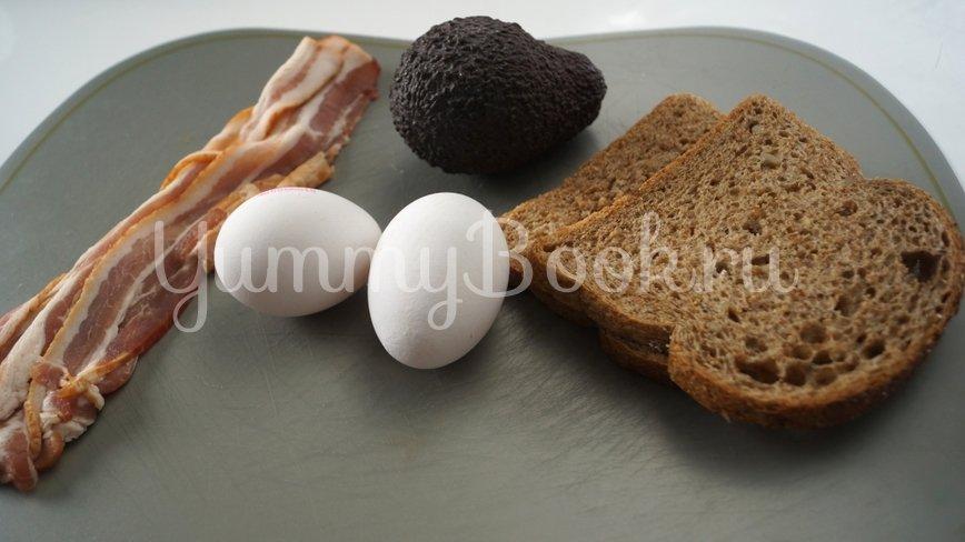 Сендвич с авокадо и яйцом-пашот - шаг 1