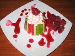 Десерт с мармеладом