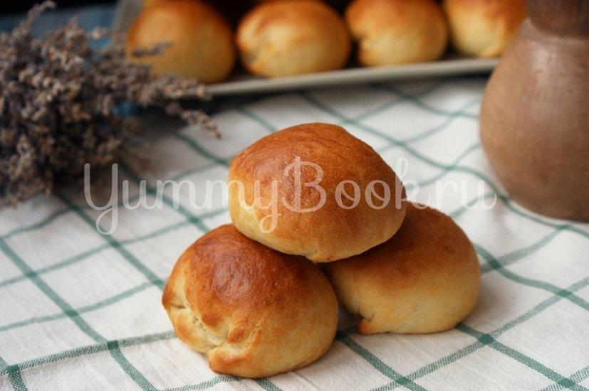 Постные дрожжевые пирожки - шаг 9
