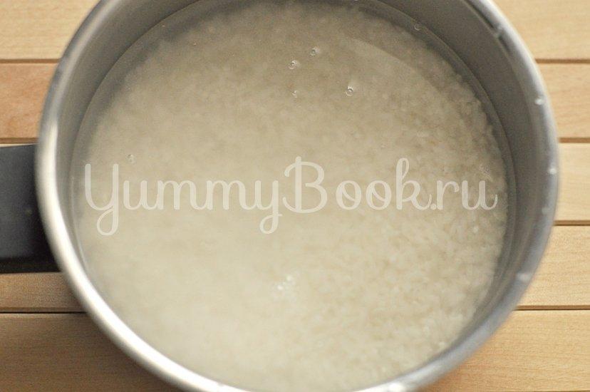 Рисовая каша с кокосовым молоком - шаг 1