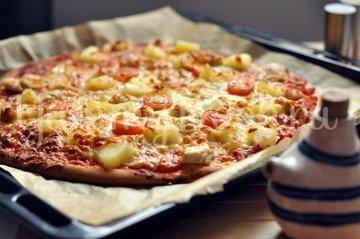 """Пицца """"Гавайская"""" - шаг 9"""