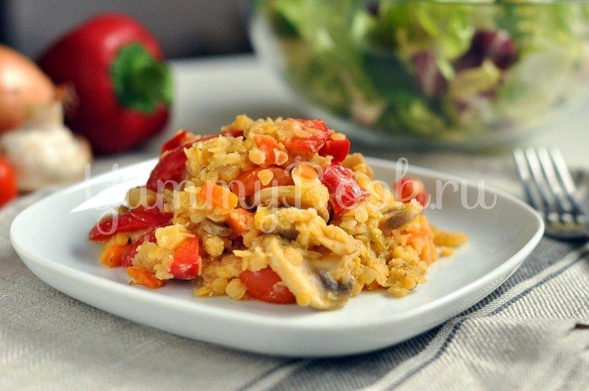 Чечевица с овощами - шаг 5