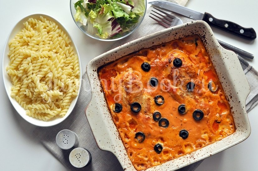 Курица в сливочно-томатном соусе - шаг 7