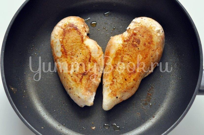 Курица в сливочно-томатном соусе - шаг 2
