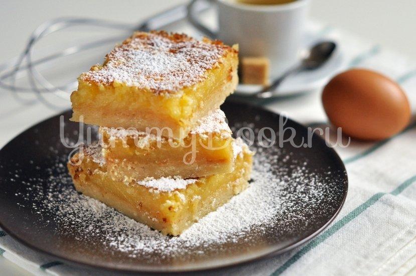 Лимонный пирог (лимонные квадратики) - шаг 8