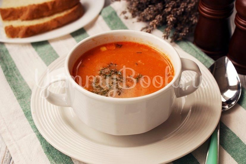 Мексиканский кукурузный суп - шаг 10