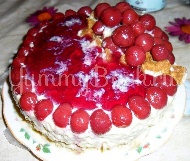 Торт Вишнёвый рай - шаг 2