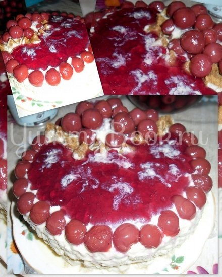 Торт Вишнёвый рай - шаг 3