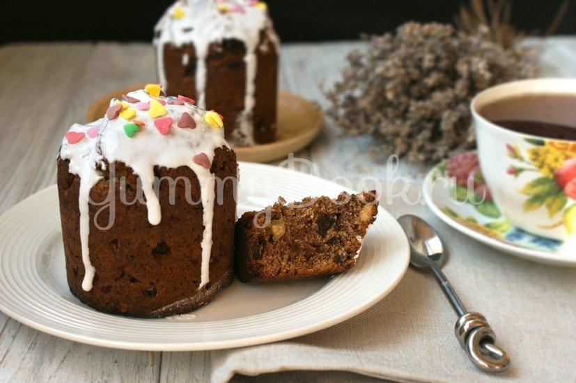 Шоколадный кулич - шаг 5