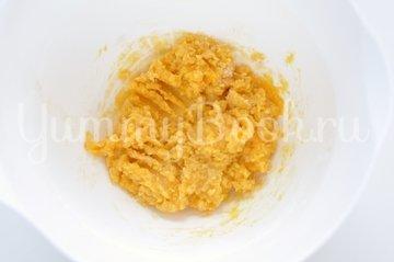 Тарт с кокосовым молоком и грушами - шаг 8
