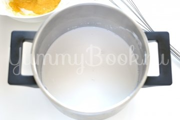 Тарт с кокосовым молоком и грушами - шаг 9