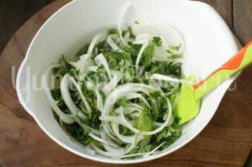 Деревенский свадебный салат - шаг 3
