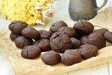 Шоколадно-ягодное печенье