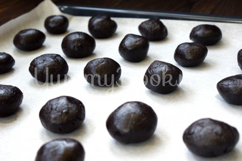 Шоколадно-ягодное печенье - шаг 4