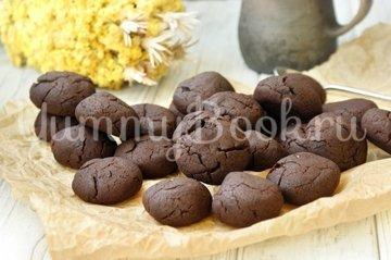 Шоколадно-ягодное печенье - шаг 6