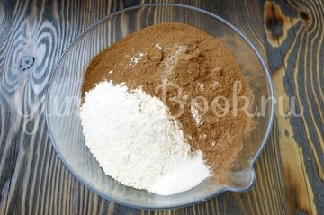 Шоколадно-ягодное печенье - шаг 2