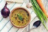 Чесночный суп по-чешски