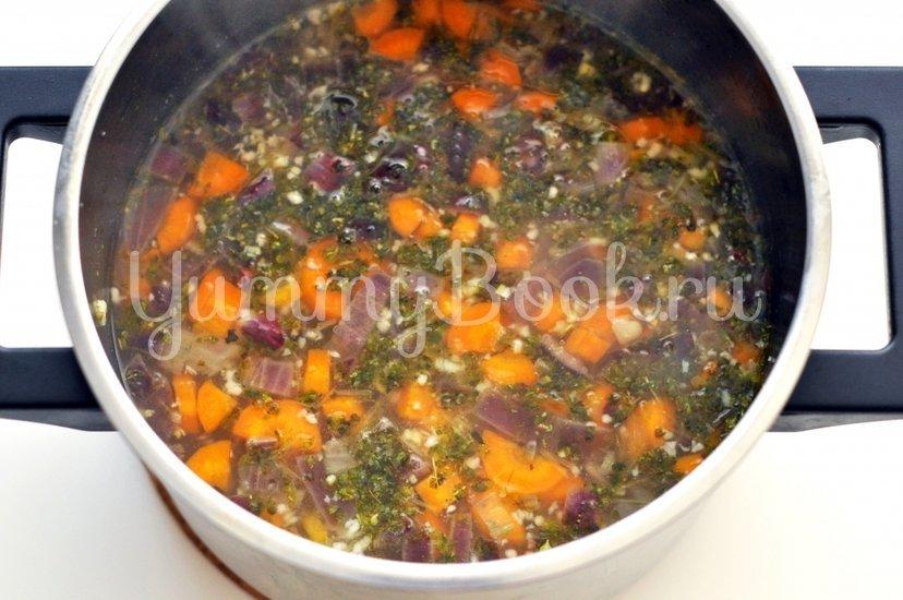 Чесночный суп по-чешски - шаг 2