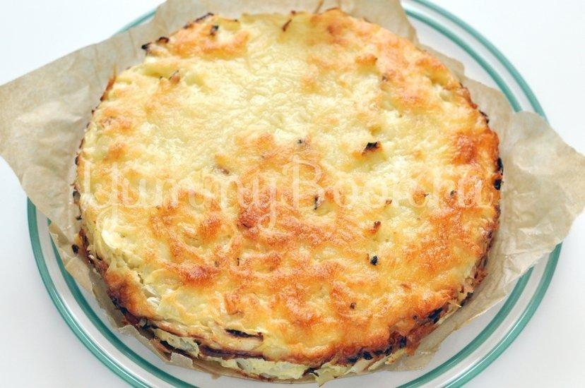 Капустный пирог с сыром - шаг 7