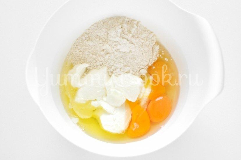 Капустный пирог с сыром - шаг 3