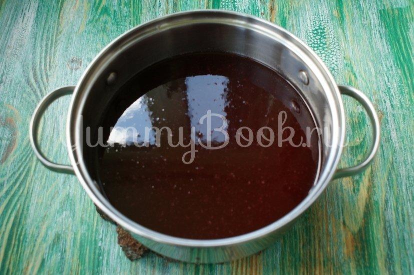 Желе из красной смородины (по рецепту Элизабет Дэвид) - шаг 6