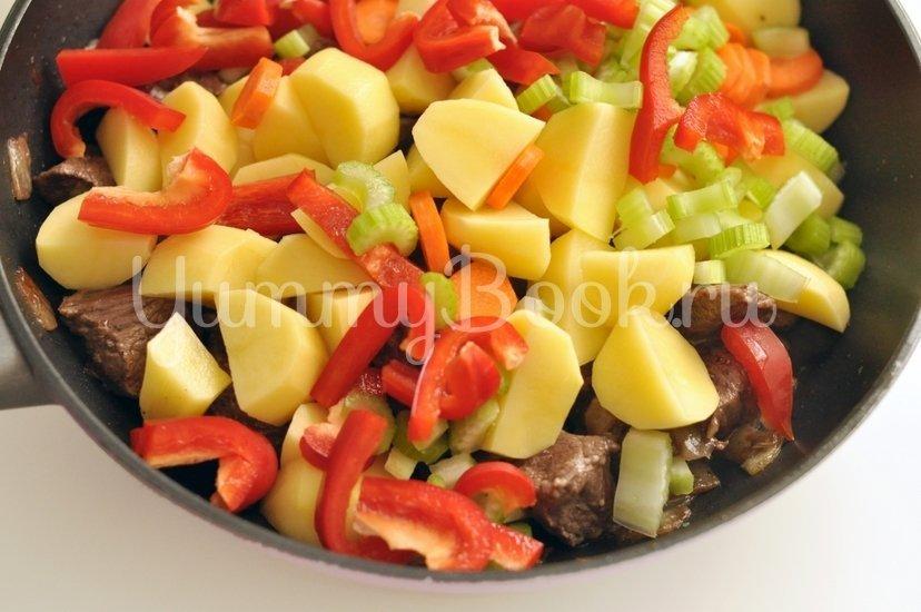 Рагу из говядины с овощами - шаг 4