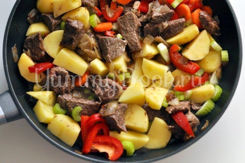 Рагу из говядины с овощами - шаг 5