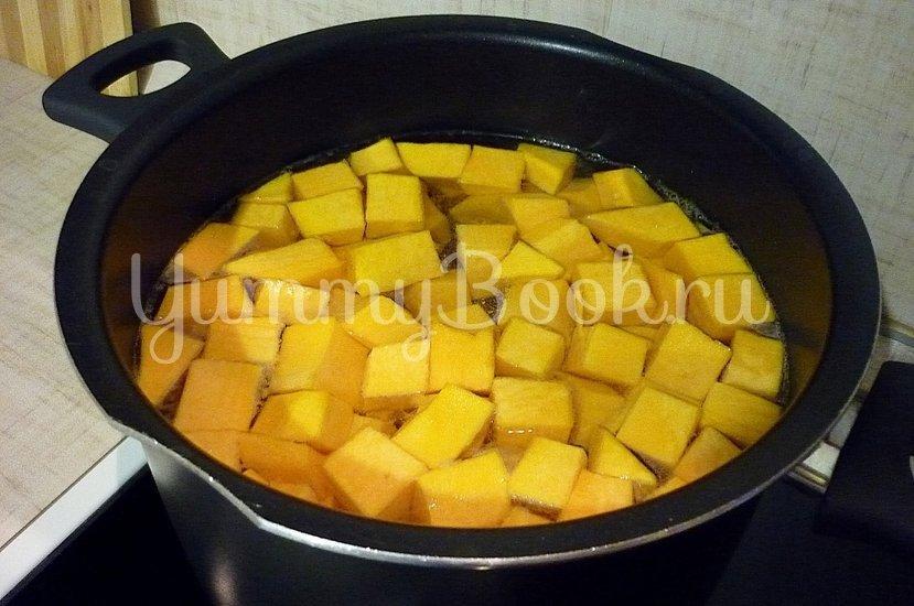 Лёгкий суп с тыквой и фрикадельками - шаг 4