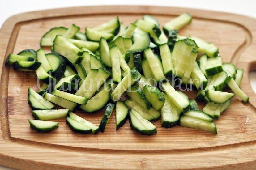 Салат с чёрной фасолью - шаг 4