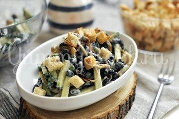Салат с чёрной фасолью - шаг 6