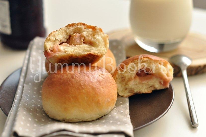 Духовые пирожки с ревенем - шаг 10