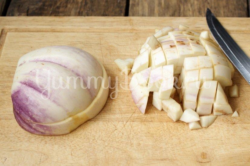 Котлеты из баклажанов с сыром - шаг 1