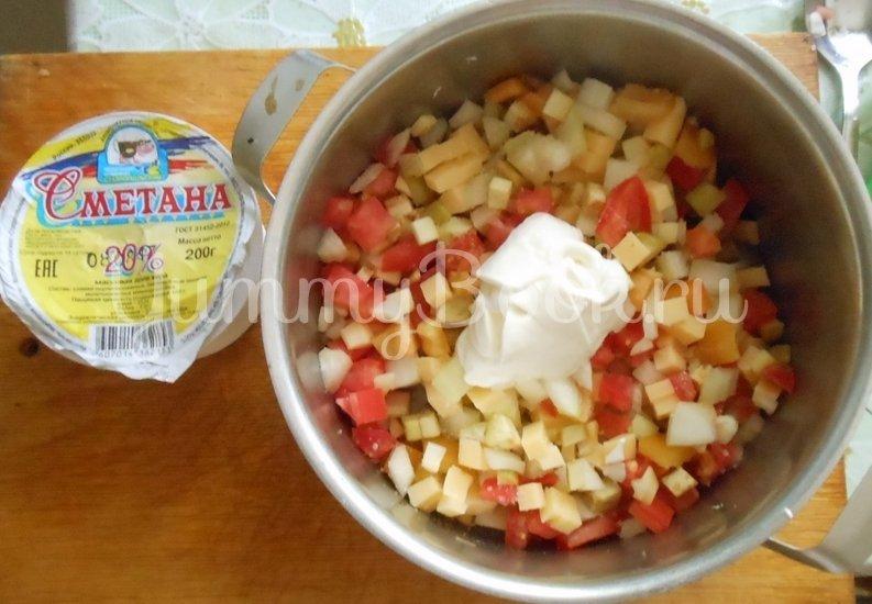 Белый амур, запечённый с овощами - шаг 9