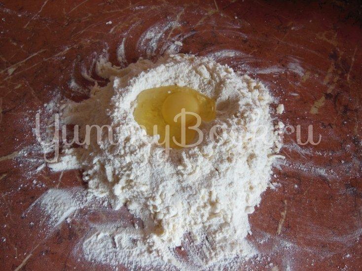 Творожный пирог с грецкими орехами - шаг 7