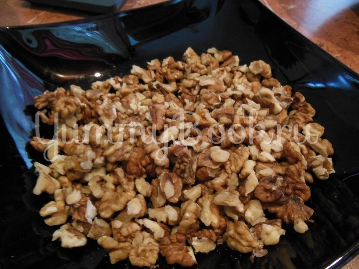 Творожный пирог с грецкими орехами - шаг 14