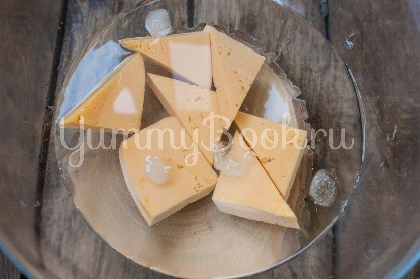 Жареный сыр в панировке - шаг 2