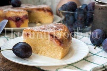 Пирог со сливами в мультиварке - шаг 9