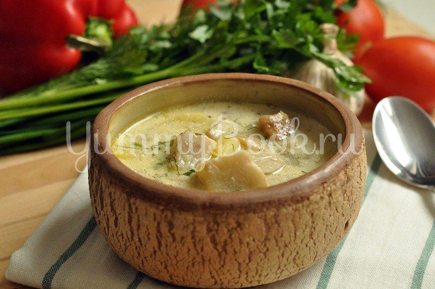 Суп из боровиков (белых грибов)