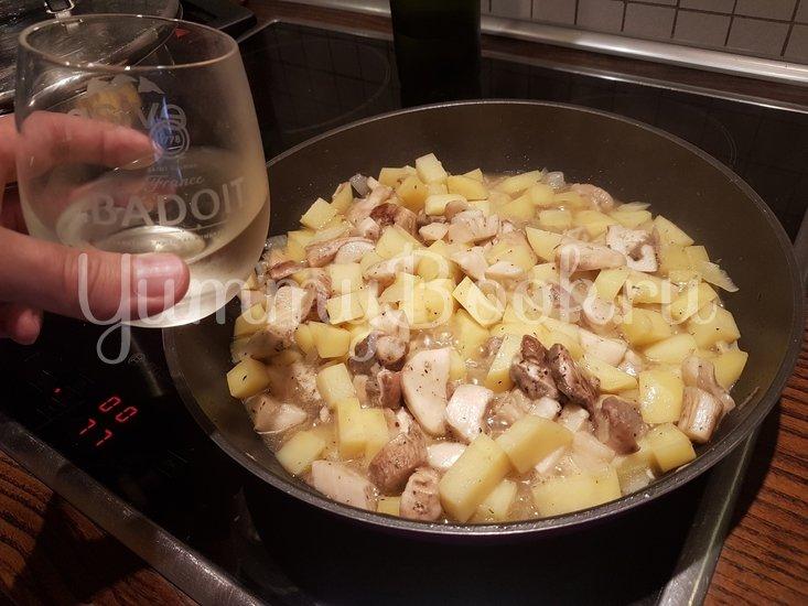 Суп из боровиков (белых грибов) - шаг 8