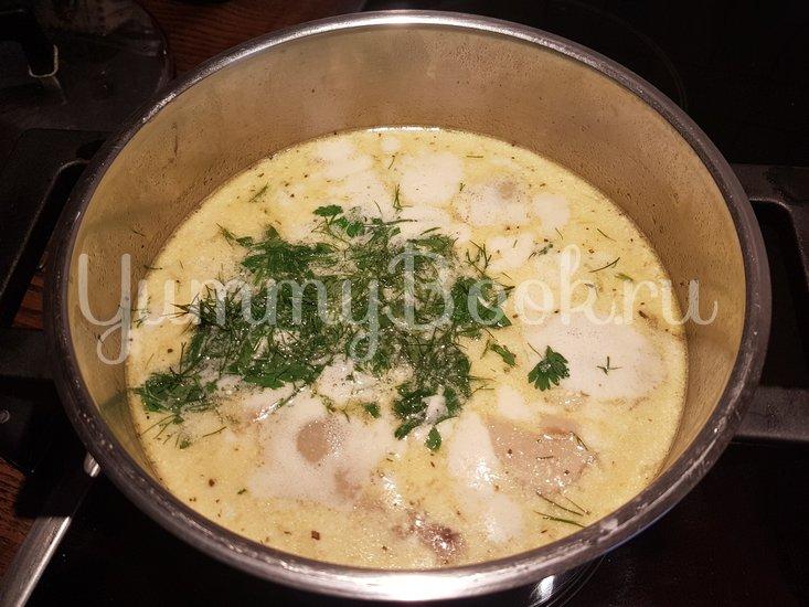 Суп из боровиков (белых грибов) - шаг 12