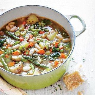 Вкусные овощные вегетарианские супы